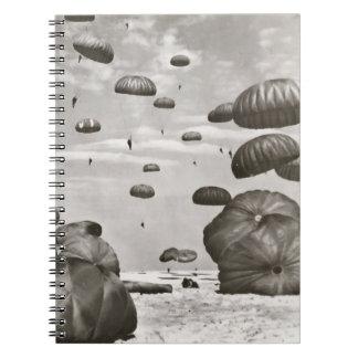 Vintage Airborne Notebook