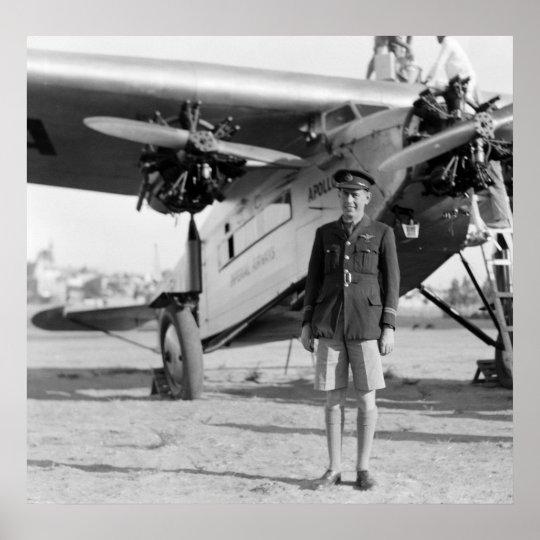 Vintage Aircraft Apollo Poster