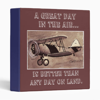 Vintage Aircraft binder