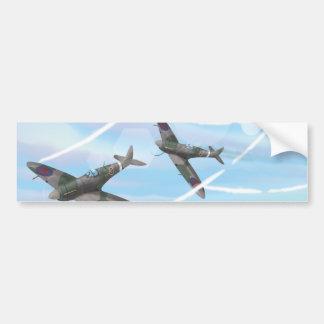 Vintage Aircraft Bumper Sticker