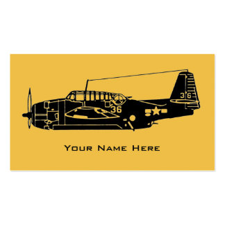 Vintage Aircraft Business Card