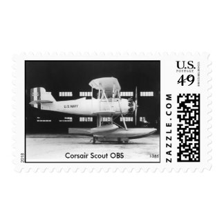 Vintage Aircraft - Corsair Scout Postage Stamp