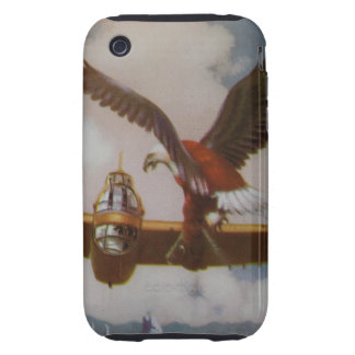 Vintage Aircraft iPhone 3/3GS Case-Mate Tough iPhone 3 Tough Case