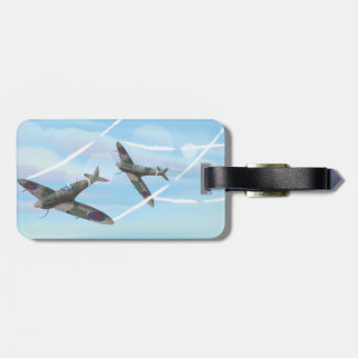 Vintage Aircraft Tags For Luggage