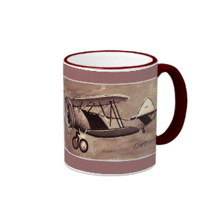 Vintage Aircraft Mug