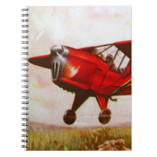 Vintage Aircraft  Notebook
