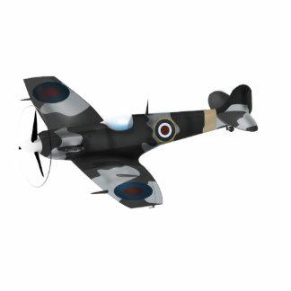 Vintage Aircraft Standing Photo Sculpture