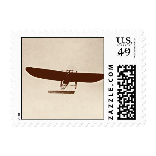 Vintage aircraft postage