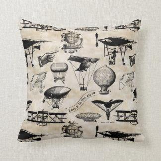 Vintage Aircraft VAXB Throw Pillow