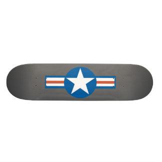 Vintage Airforce Logo Skateboard Deck