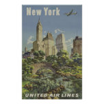 Vintage Airlines Advertisement Posters