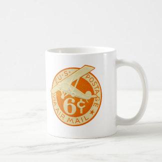 Vintage Airmail Coffee Mug