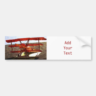 Vintage Airplane by Shirley Taylor Bumper Sticker
