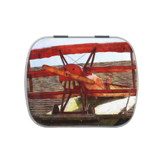Vintage Airplane by Shirley Taylor Candy Tins