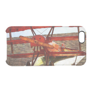 Vintage Airplane by Shirley Taylor Clear iPhone 6/6S Case