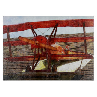 Vintage Airplane by Shirley Taylor Cutting Board