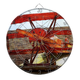 Vintage Airplane by Shirley Taylor Dart Board