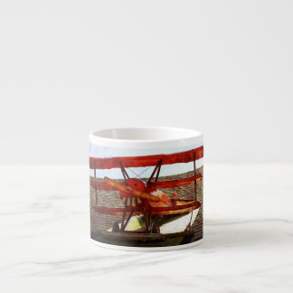 Vintage Airplane by Shirley Taylor Espresso Cup