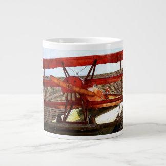 Vintage Airplane by Shirley Taylor Large Coffee Mug