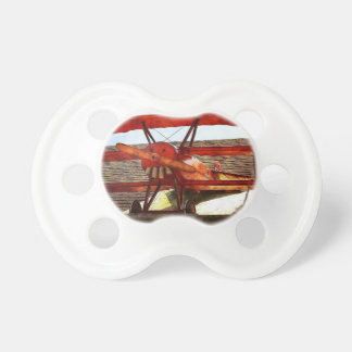 Vintage Airplane by Shirley Taylor Pacifier