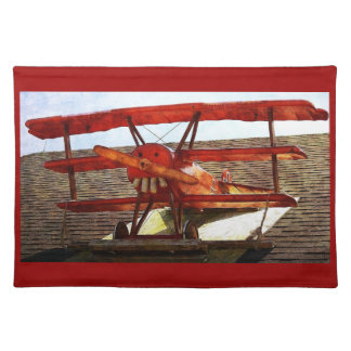 Vintage Airplane by Shirley Taylor Placemat