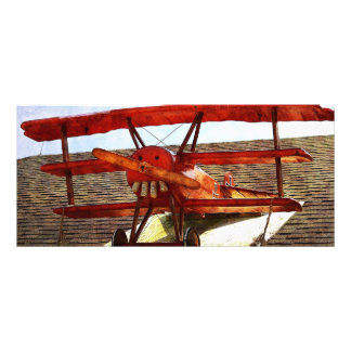 Vintage Airplane by Shirley Taylor Rack Card