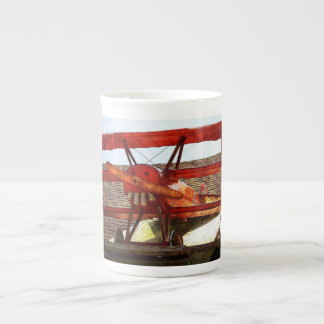 Vintage Airplane by Shirley Taylor Tea Cup