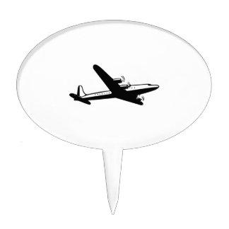 Vintage Airplane Cake Topper