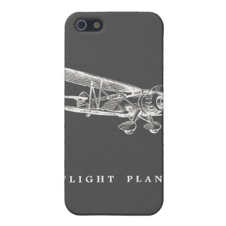 Vintage Airplane, Flight Plans Cover For iPhone SE/5/5s