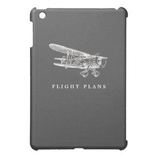 Vintage Airplane, Flight Plans iPad Mini Case