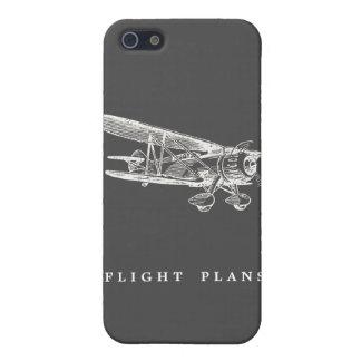 Vintage Airplane Flight Plans iPhone 5 Covers