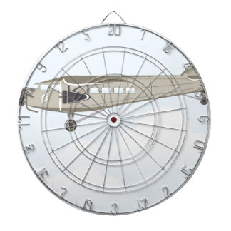 Vintage Airplane illustration vector Dart Board