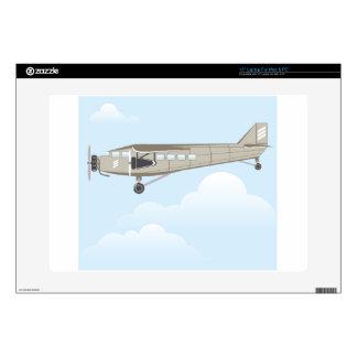 Vintage Airplane illustration vector Laptop Decals