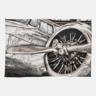 Vintage Airplane Kitchen Towels