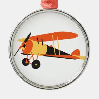 vintage  airplane, Nieuport 28,  WWI era Metal Ornament