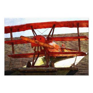 Vintage Airplane Photo