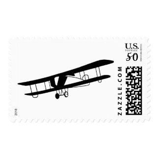 Vintage Airplane Postage