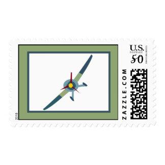 Vintage Airplane Postage Stamps