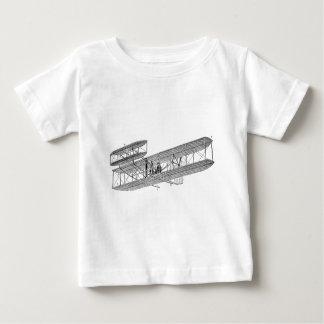 Vintage Airplane Retro Old Biplane Plane Biplanes Baby T-Shirt