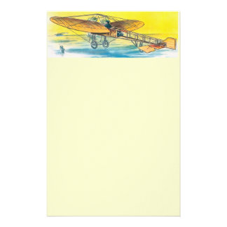 Vintage Airplane Stationary Stationery Paper