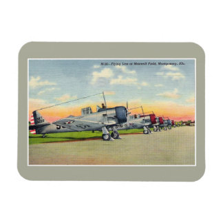 Vintage airplanes Maxwell Field Montgomery AL Magnet