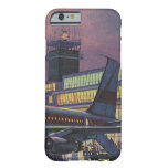 Vintage Airport, Passengers Boarding an Airplane Barely There iPhone 6 Case