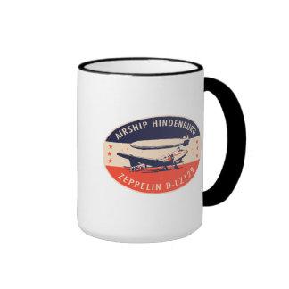 Vintage Airship Hindenburg LZ129 Mug