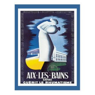 Vintage Aix-les-Bains Savoie Postcard