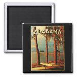 Vintage Alabama Imán De Frigorífico