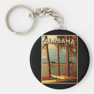 Vintage Alabama Llaveros Personalizados