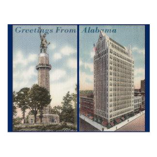 Vintage Alabama Postales