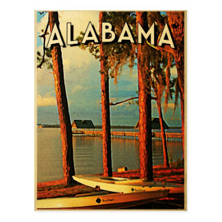 Vintage Alabama Post Card