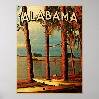 Vintage Alabama Poster