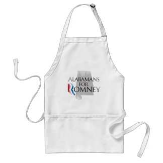 Vintage Alabamans for Romney.png Adult Apron